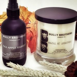Premium soy blend candles, wax melts and room spra
